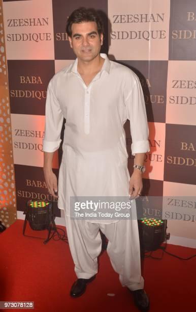 Arbaaz Khan at Baba Siddiques Iftar party in Mumbai