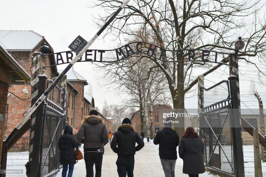 74th Anniversary Of Auschwitz Liberation : News Photo