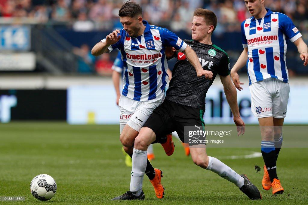 SC Heerenveen v FC Groningen - Dutch Eredivisie : News Photo