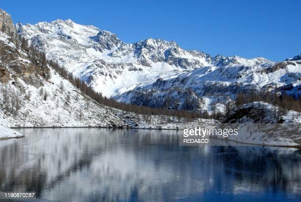 Arbola mountain from Codelago Alpe Devero Ossola Valley Verbania province Piedmont Italy