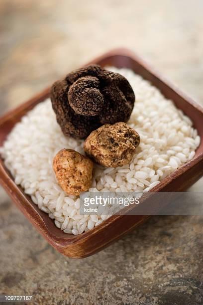 Riso Arborio & tartufi al cioccolato