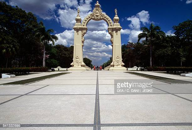 Arc de Triomphe Campo Carabobo monumental complex where Simon Bolivar defeated the Spanish army leading to Venezuelan independence June 24 Valencia...