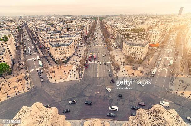 Arc de Triomphe cityscape