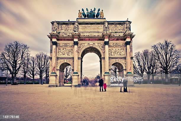 Arc de Triomphe du Carrousel, Paris Landmark