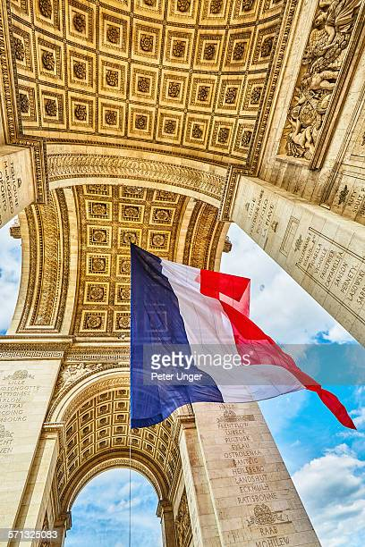 Arc de Triomphe, French National day