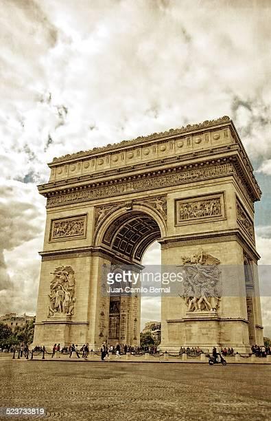 Arc de Triomphe or Arch de Triumph