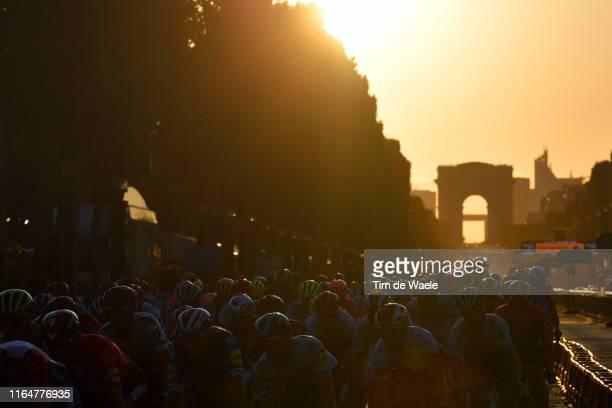 Arc De Triomphe / Paris City / Landscape / Peloton / during the 106th Tour de France 2019 Stage 21 a 128km stage from Rambouillet to Paris...