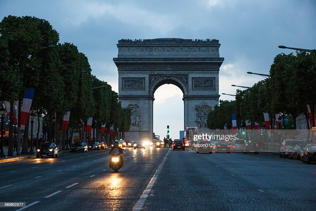Arc de Triomphe : Stock Photo