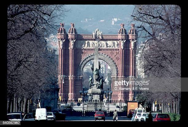 Arc del Triomf in Barcelona, Spain
