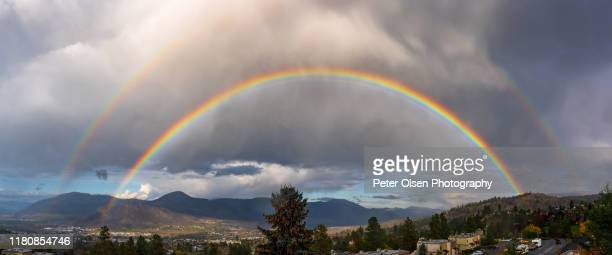 arc of beauty - kamloops stock pictures, royalty-free photos & images