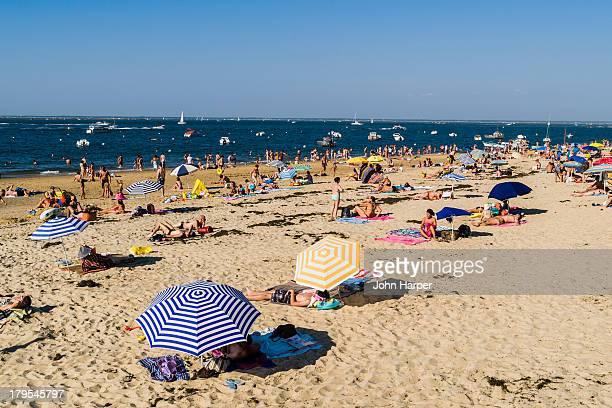 Arcachon Beach, Cote d'Argent, Gironde, France