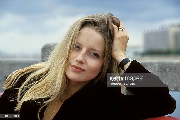Arcachon Film Festival Laure Marsac Actress On August 30th 1993
