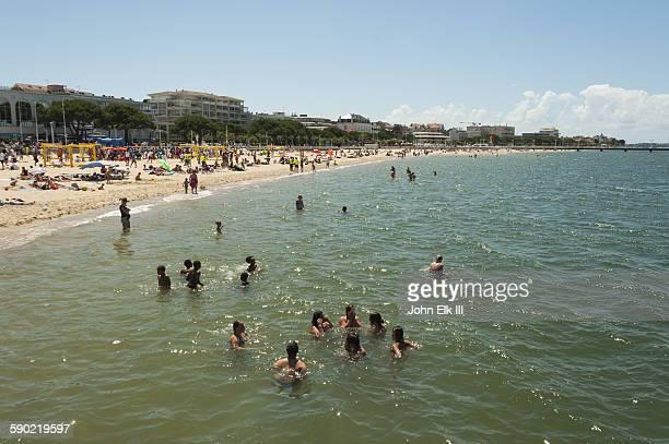 Arcachon, Town beach