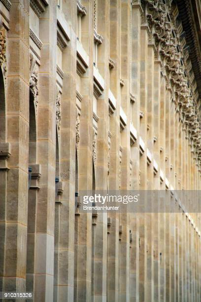 arcade column - palais royal stock pictures, royalty-free photos & images