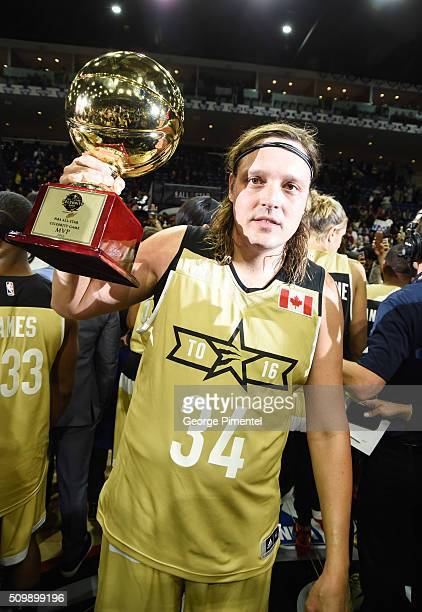 Arcade Fire's Win Butler attends the 2016 NBA AllStar Celebrity Game at Ricoh Coliseum on February 12 2016 in Toronto Canada