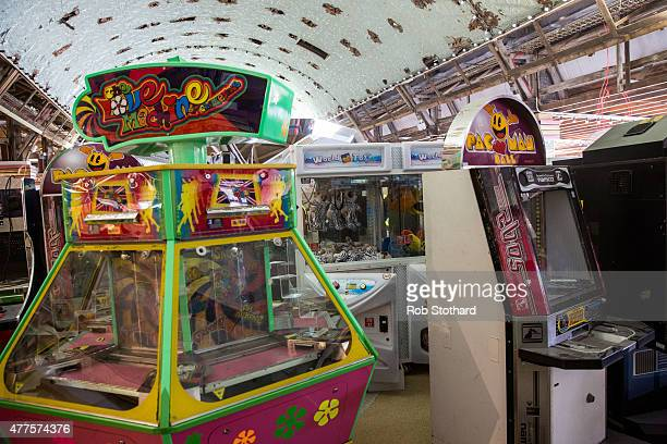 Arcade games are stored at Dreamland amusement park on June 18 2015 in Margate England Dreamland is considered to be the oldestsurviving amusement...
