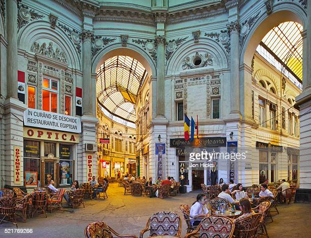 Arcade of Bars and Cafes