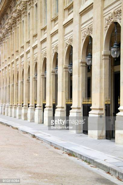 arcade - palais royal stock pictures, royalty-free photos & images