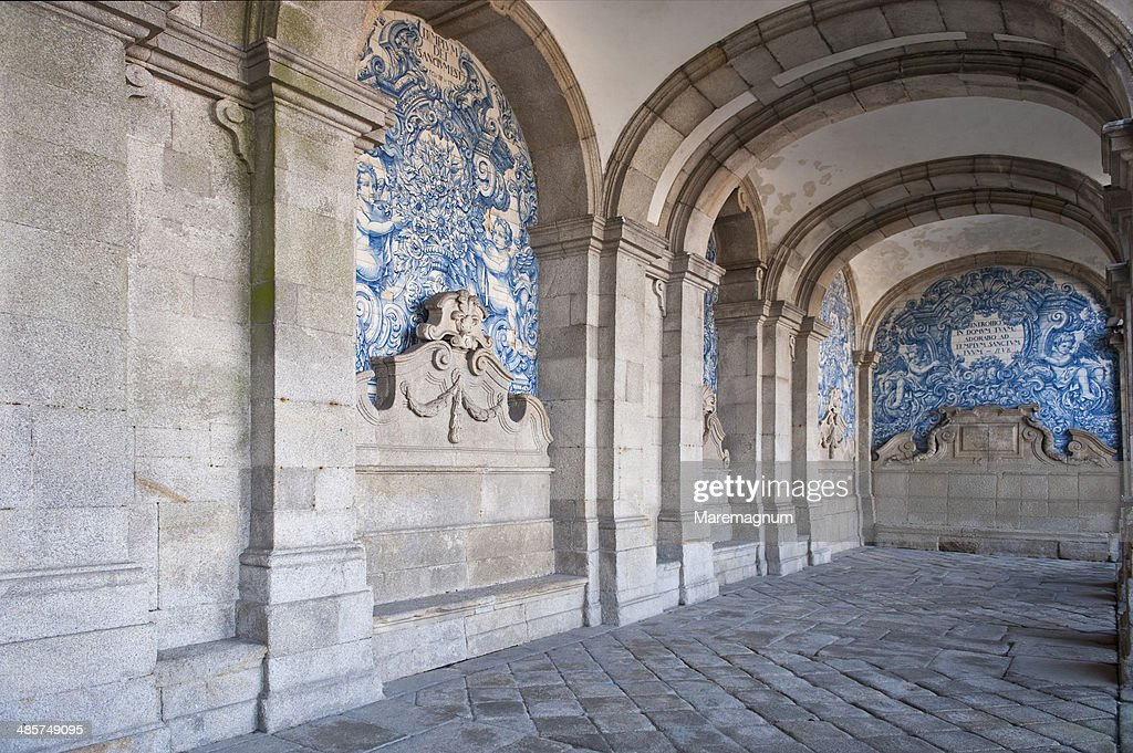 Arcades of Se Cathedral : Stock Photo