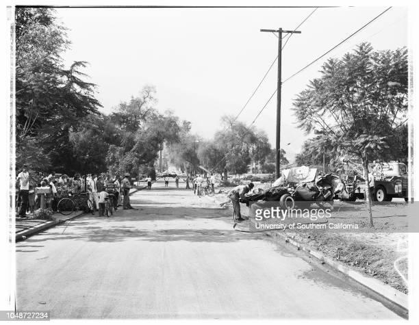 Arcadia bus crash killed one 14 July 1959 Corrine Matson 3 1/2 years William Leser 21 yearsSteven BalakMichael MushinskieBob RobertsonSteve LongMike...