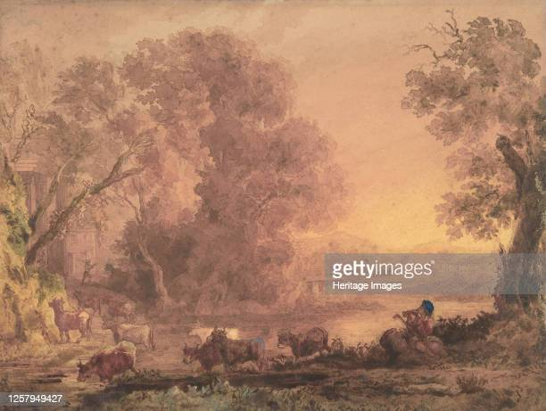 Arcadian Landscape 182042 Artist George Barret the Younger