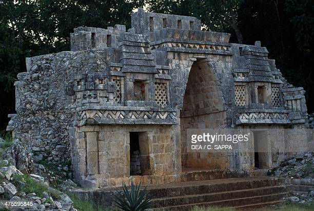 Arch archaeological site of Labna Yucatan Mexico Maya Civilisation