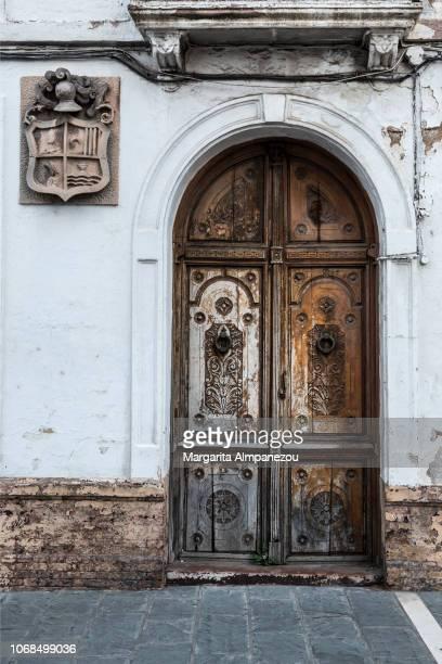 Arch door in the streets of Ronda