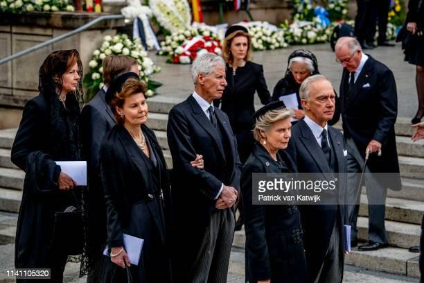Arch Duchess Marie Astrid of Austria, Arch Duke Carl Christian of Austria, Princess Margaretha of Luxembourg and Prince Nikolaus of Liechtenstein...