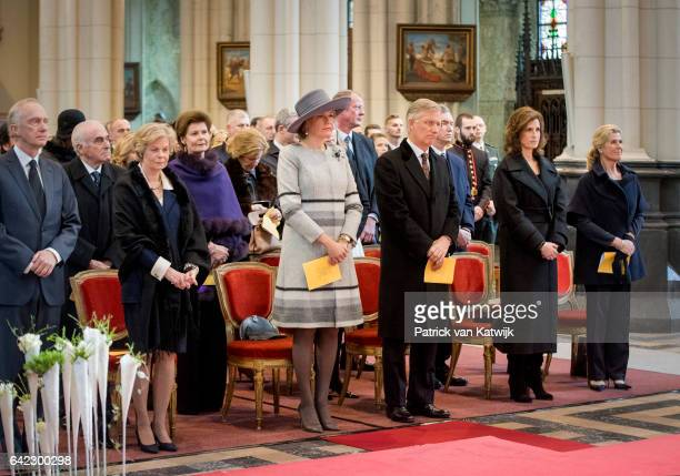 Arch Duke Christian and Princess Marie Astrid of Austria Princess Margaretha of Liechtenstein King Philippe and Queen Mathilde Princess Esmeralda and...
