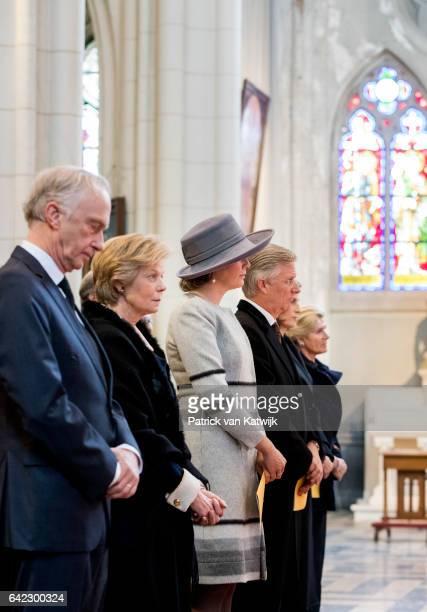 Arch Duke Christian and Princess Marie Astrid of Austria, Princess Margaretha of Liechtenstein, King Philippe and Queen Mathilde, Princess Esmeralda...