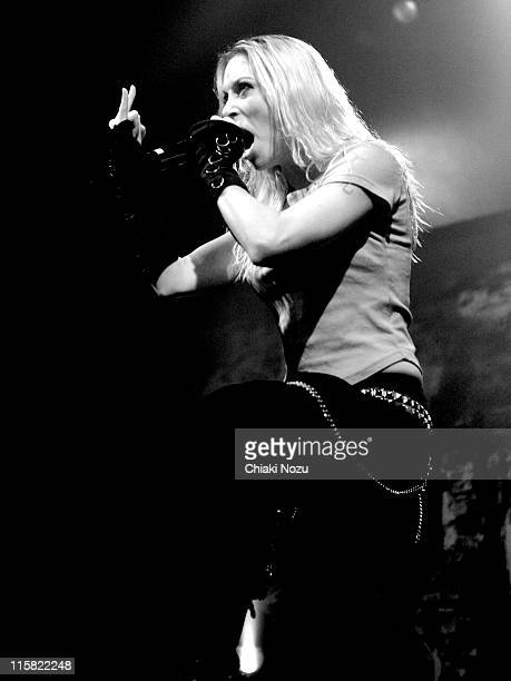 Arch Enemy during Arch Enemy in Concert at the Astoria in London December 15 2005 at Astoria in London United Kingdom