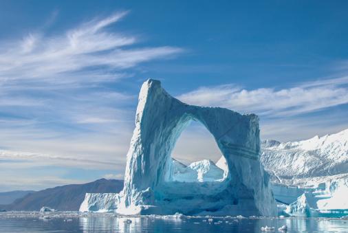 Arch iceberg in Greenland 179088150
