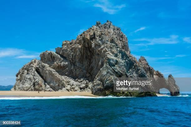 Arch of Cabo San Lucas, rock formation, Lands End, Los Cabos, Baja California, Mexico