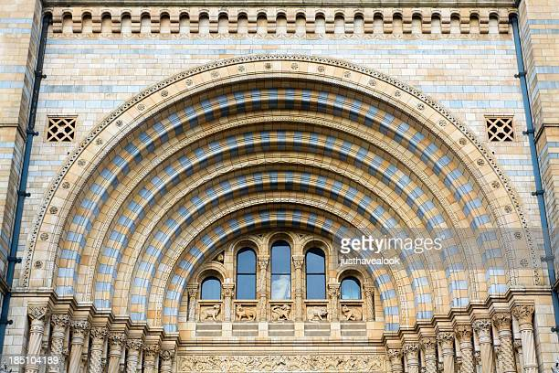 Arch of entrance to Natural History Museum