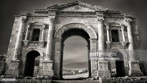 Arch Of Hadrian,Jerash, Jordan