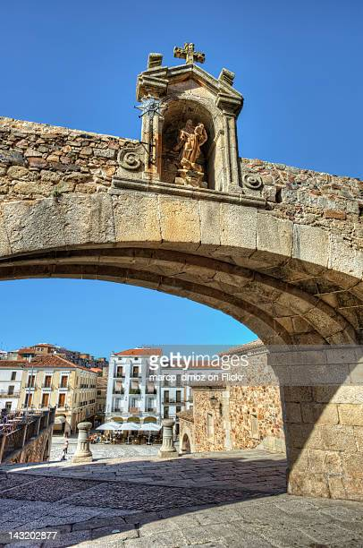 Arch of Star in Caceres