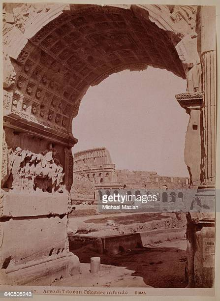 Arch of Titus or Arco di Tito in Italian a triumphal arch in Rome Italy It was erected in 81 AD to commemorate the victories of Titus and Vespasian...