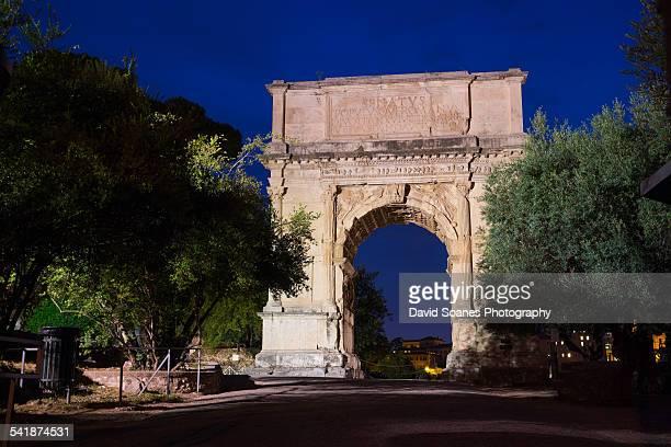 Arch of Titus, Roman Forum