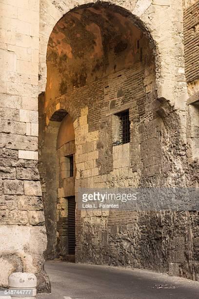 Arch on Cagliari