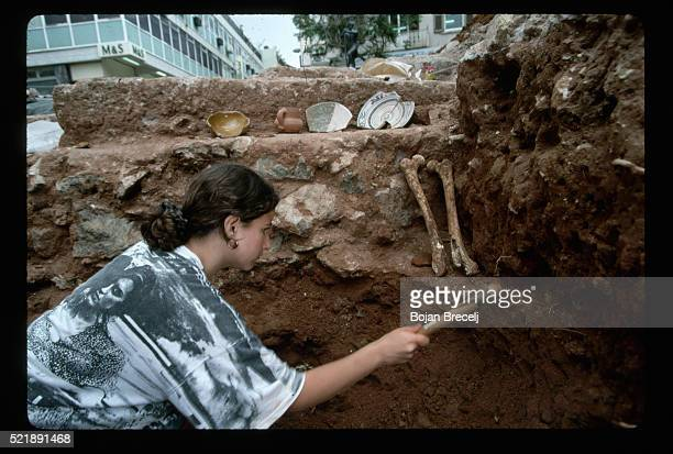 Archaeological Dig in Gibraltar