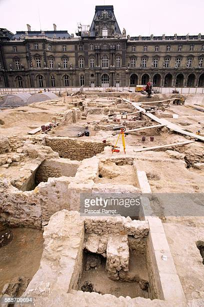 Archaeological Digs at the Louvre
