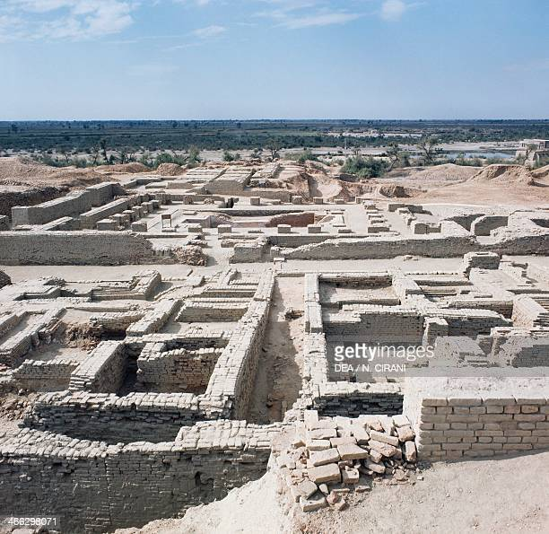 Archaeological excavations at MohenjoDaro Sindh Pakistan Indus civilization 3rd millennium BC