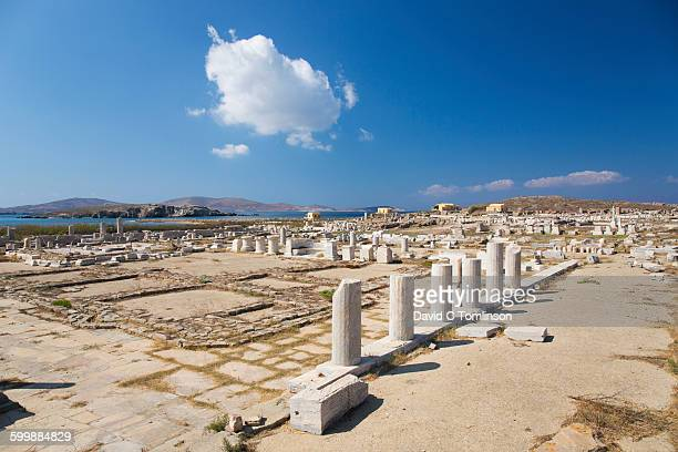 Archaeological remains, Delos