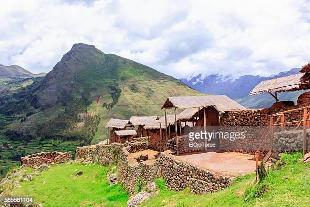 Archaeological site Pisac, Perú