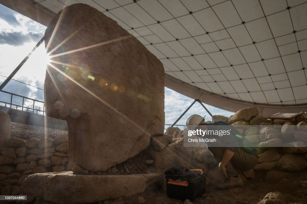 Tourists Visit Site Of The World's Oldest Structures At Gobekli Tepe : News Photo