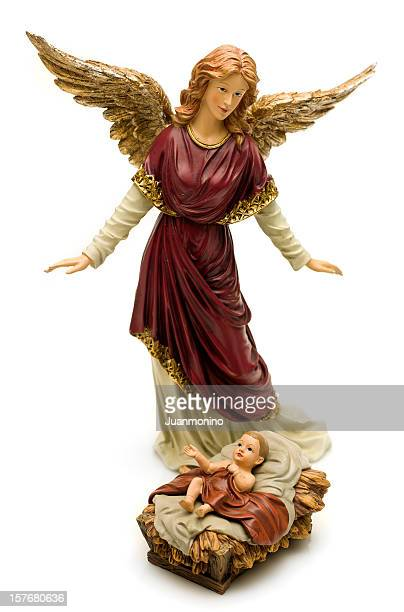 Archangel Gabriel und Baby Jesus