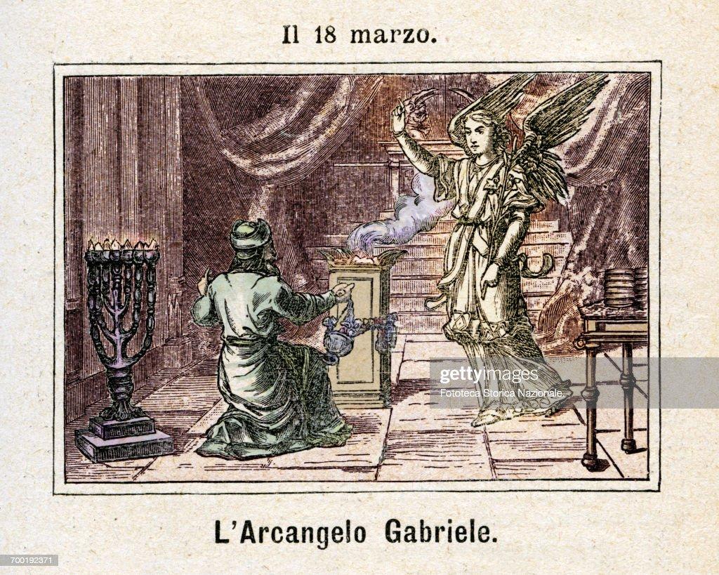 MARCH 18 - ARCHANGEL GABRIEL : News Photo