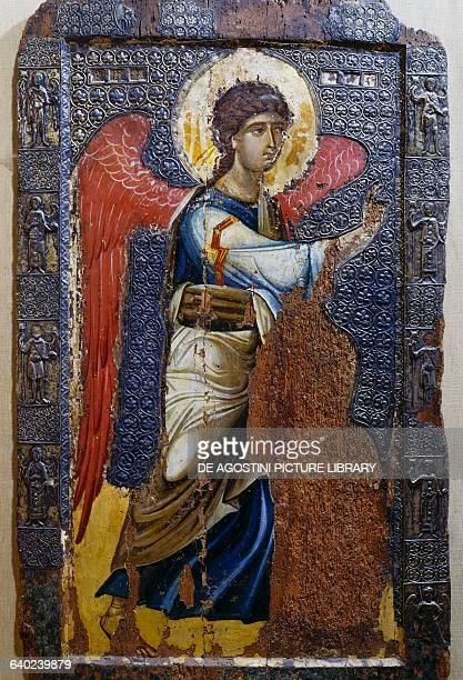 Archangel Gabriel icon by an unknown artist Ohrid Republic of Macedonia 12th century Ocrida Galleria Delle Icone