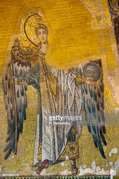Archangel Gabriel in Hagia Sophia, Sultanahmet district, Istanbul, Turkey