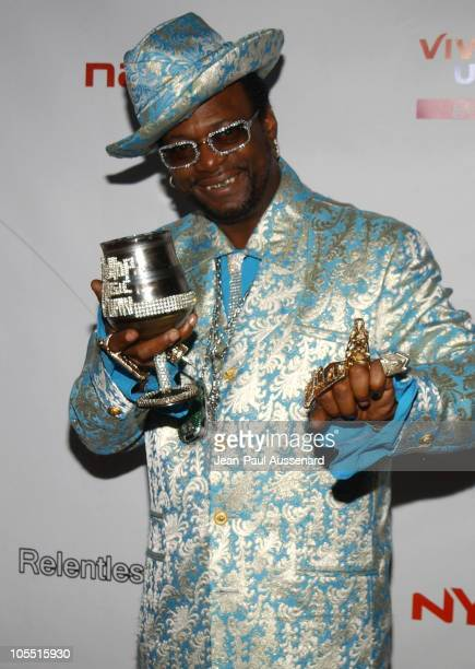 Archbishop Don Magic Juan during Inside: E3 2005 Party at Avalon Hollywood in Hollywood, California, United States.